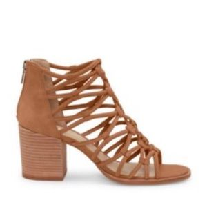 Vince Camuto | Strappy Cage Heeled Sandals